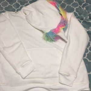 SO Intimates & Sleepwear - Soft Unicorn Pullover Hoodie